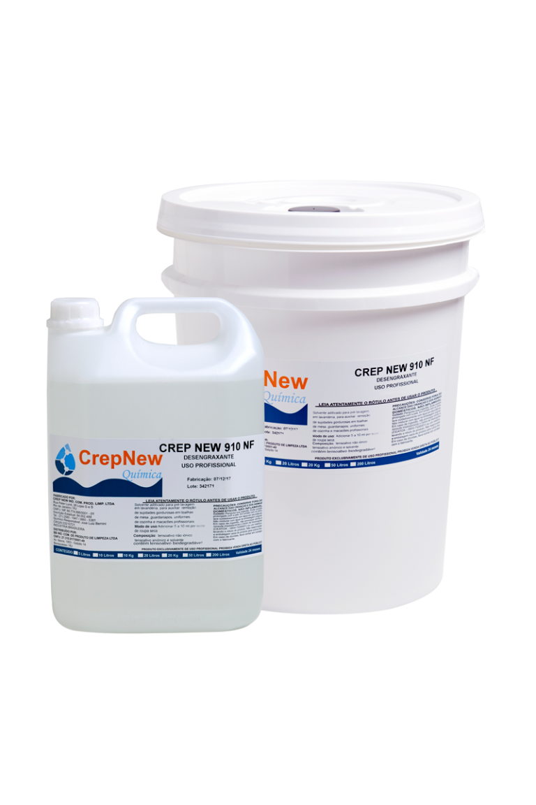 CREPNEW 910-NF<p>Desengraxante Neutro